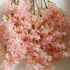 Home Wall Artificial Flower Decorations for Wedding Party - BLUSH RED