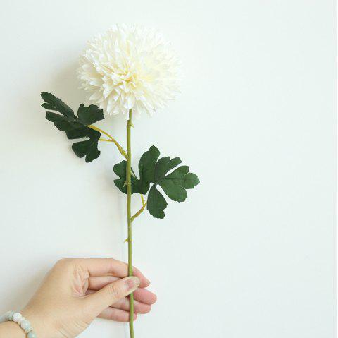 Chrysanthemum Artificial Flower Home Wedding Party Decorations - WARM WHITE