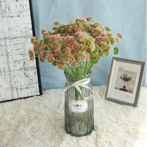Artificial Flower Home Wedding Party Decorations Table Display - ROSY BROWN