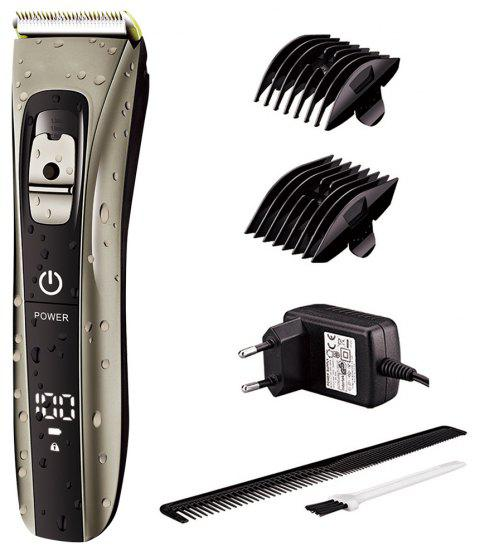 SURKER Electric Hair Clipper LED Indicating Light Touch Switch - SILVER