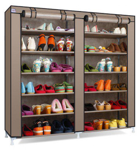 Multi Layer Dust Proof Modern Simple Non-Woven Simple Shoe Rack - COFFEE 1PC