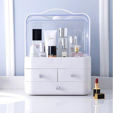 Cosmetics Boxes Oversized Draw-Out Type Portable Shelf Protects Skin To Taste - WHITE 1PC