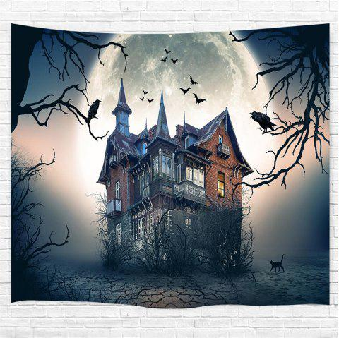 Crow Bower 3D Printing Home Wall Hanging Tapestry for Decoration - multicolor W153CMXL102CM