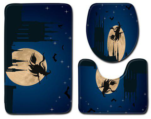 Halloween witch bathroom carpet - DENIM DARK BLUE 50 X 80CM