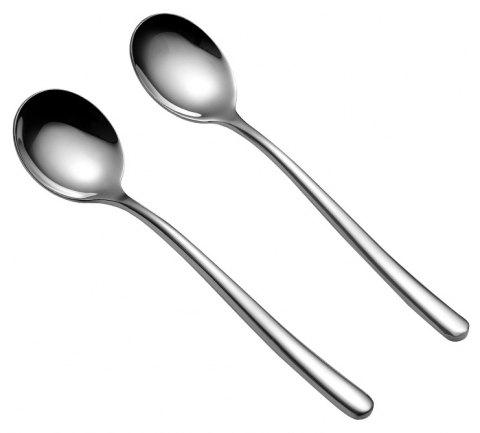SLYDLL 201 Stainless Steel Spoon - SILVER