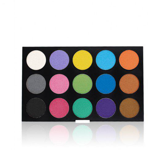 IMAGIC30 Color Pearlescent Matte Eyeshadow Professional Makeup Plate - multicolor A