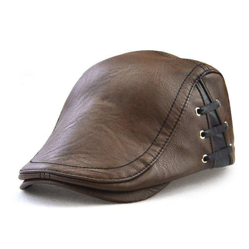 JAMONT Men's Personalized Beret - COFFEE