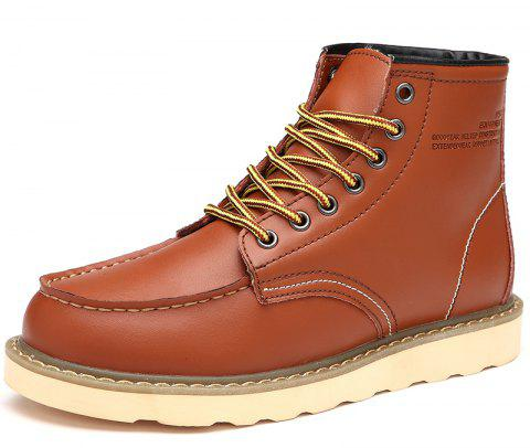 Men'S Warm and Wearable Tooling Boots - multicolor A EU 39