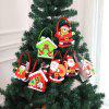 Christmas Gift Bag For Candy Decoration Santa Claus Bags - multicolor C 22.5CM*7CM