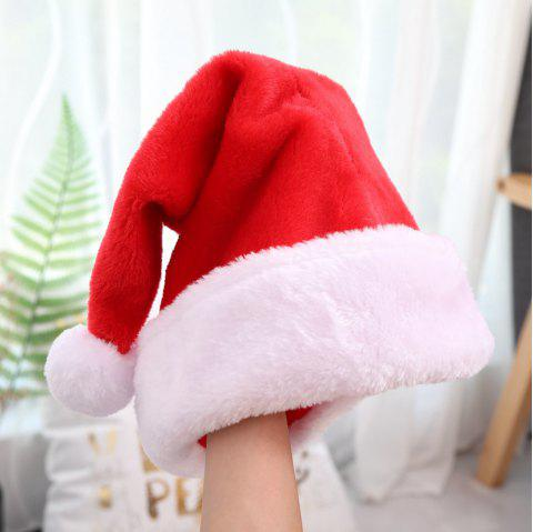 Christmas Hat Cap Boys and Girls Fashion Red Lovely Caps - RED 43*32CM