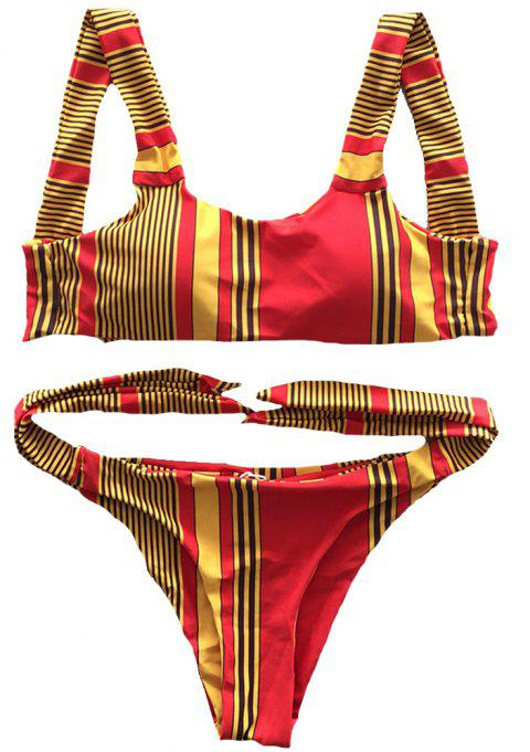 SleeWIM Fission Swimsuit Digital Printing Color Stripe - multicolor A M
