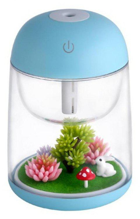 Cool Mist Humidifier Aroma Essential Oil Diffuser for Office Home Study Yoga Spa - LIGHT BLUE