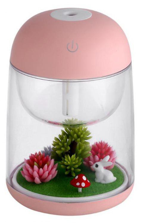 Cool Mist Humidifier Aroma Essential Oil Diffuser for Office Home Study Yoga Spa - PINK