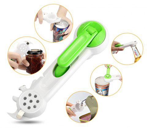 7 in 1 Multi-Function Can Opener - multicolor A