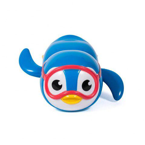 New Wind Up Swimming Penguin Bath Toy for Kids - BLUE