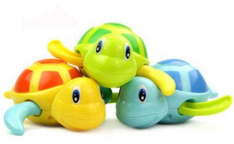 6 Pack Swimming Turtles Wind-Up Bath Water Toy for Kids - multicolor A