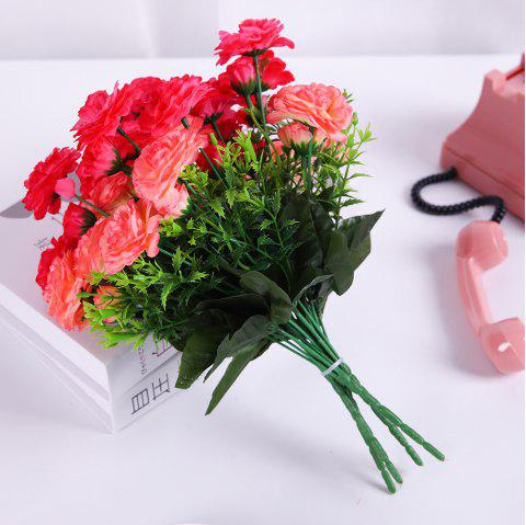 Sweet A Bouquet of Room Decoration Artificial False Eustoma Flower - DIMORPHOTHECA MAGENTA