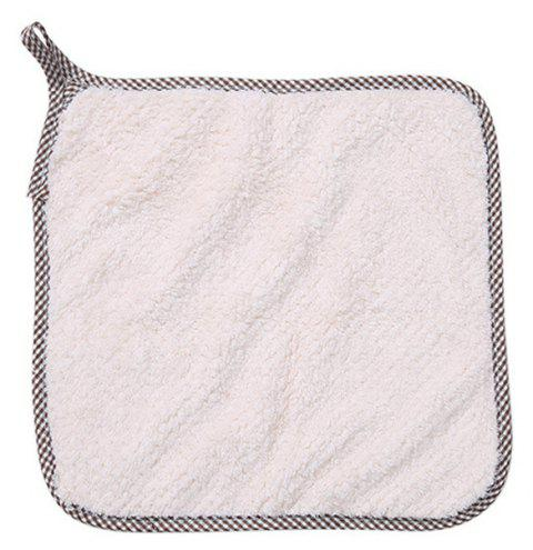 Can Hang - Up Kitchen Cleaning Cleaning Cloth - NATURAL WHITE