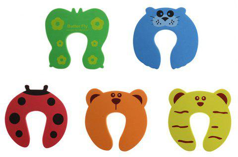 5Pcs/Lot Protection Baby Safety Cute Animal Security Door Stopper - multicolor