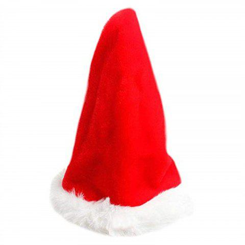 Electric Music Swing Hat Christmas Innovative Decoration Supplies - RED