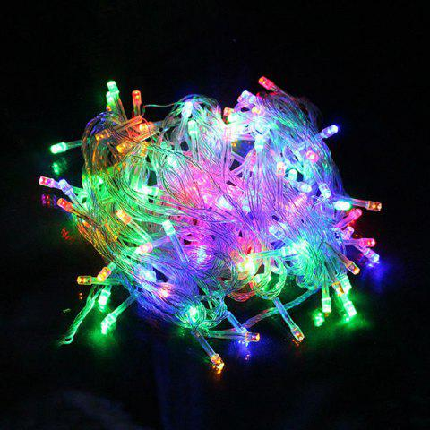 10m/72pcs 220V LED Light Strap Lamp Waterproof For Christmas Tree  Decoration - multicolor