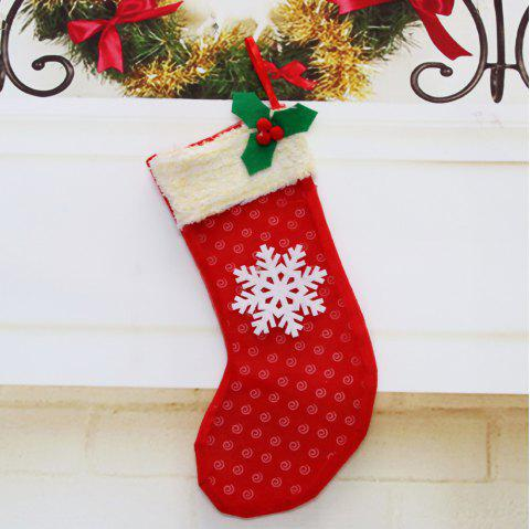 Christmas Sock Pendant for Christmas Party Decoration - multicolor B