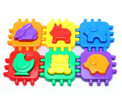 Happy Maty LY-Z1100 Animal Box Toys - multicolor