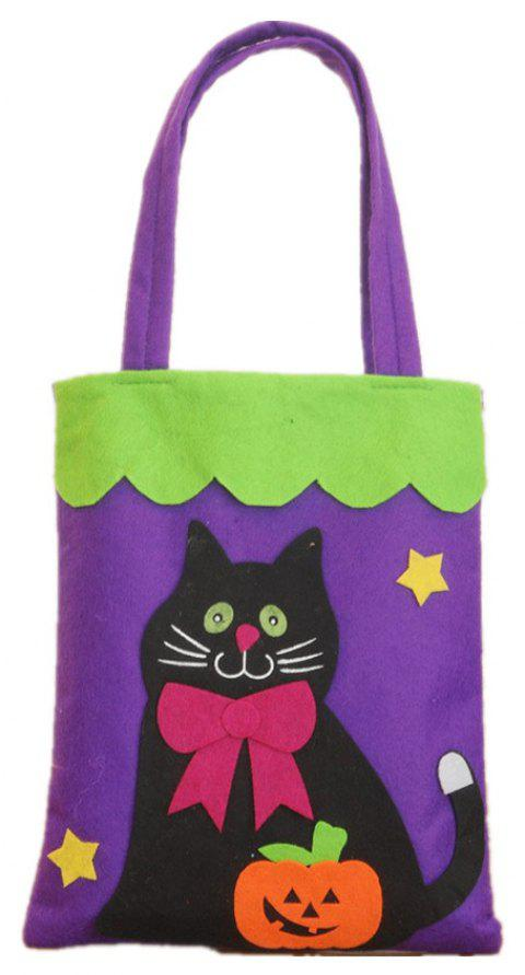 Colorful Halloween Candy Bag Gift Bags Pumpkin - multicolor C 39*18CM