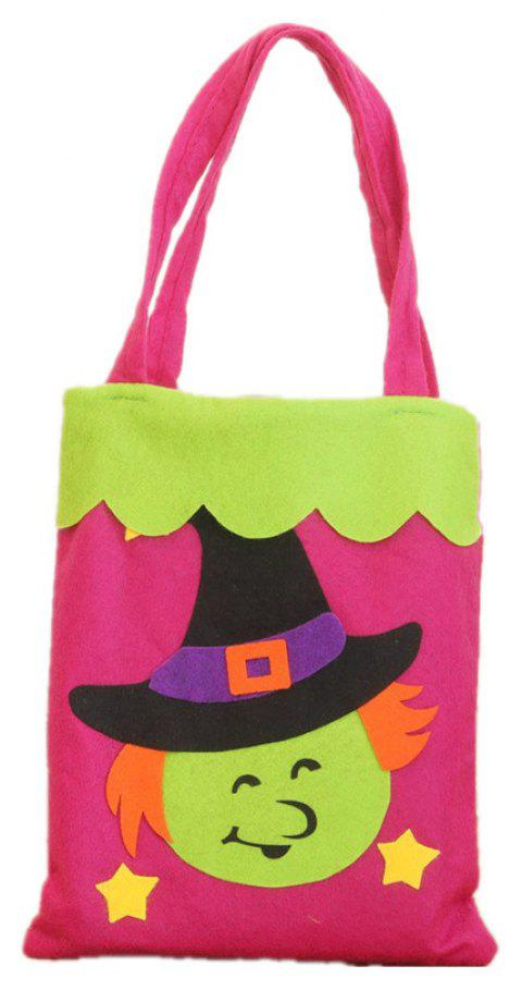 Colorful Halloween Candy Bag Gift Bags Pumpkin - multicolor B 39*18CM