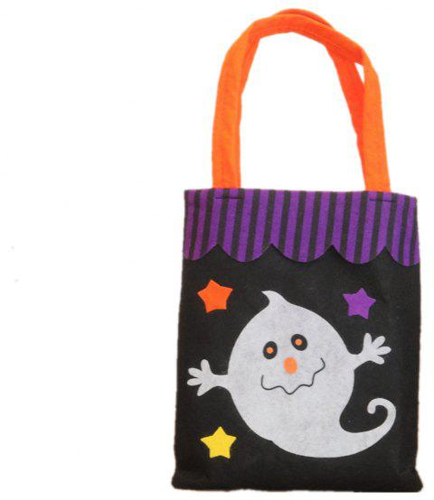 Colorful Halloween Candy Bag Gift Bags Pumpkin - multicolor F 39*18CM