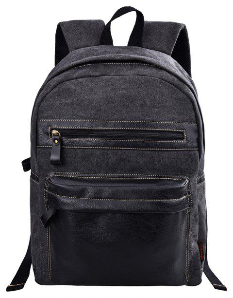 Douguyan Fashion Laptop Backpack for Men Leisure Travel Outdoor G43701A -  DARK SLATE GREY 1a06f28acbb6a