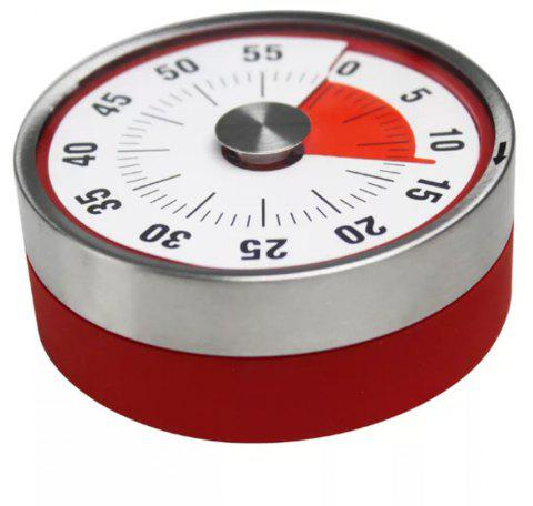 Stainless Steel With Mangnetic Kitchen Timer - RED