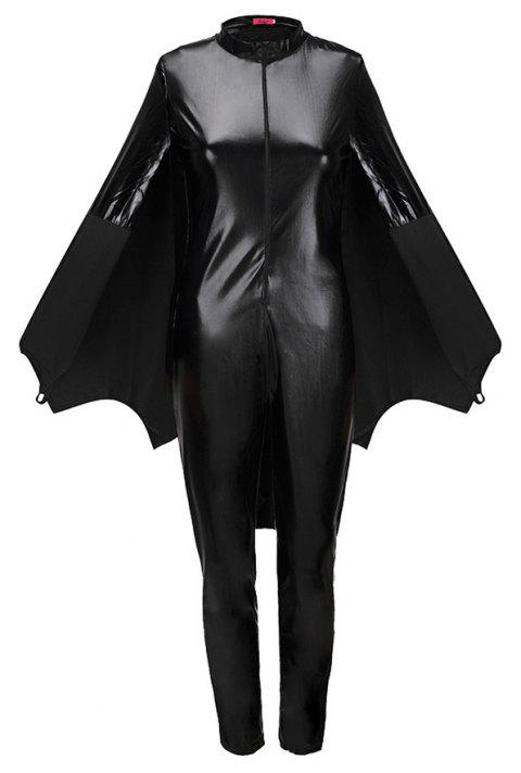 Halloween Horror Bat Costume Party Costume - BLACK S
