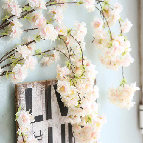 Artificial Flower Oriental Cherry Wedding Party Home Decorations - CHAMPAGNE