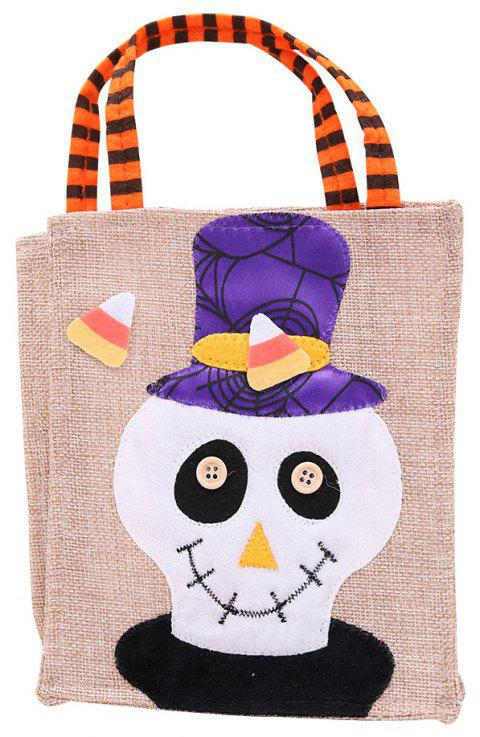 YEDUO Halloween Sac de bonbons Party Dress Up non-tissé - Blanc