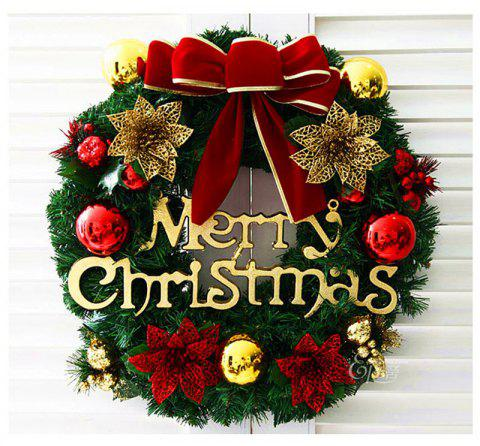 merry christmas wreath with bow handcrafted new year elegant holiday wreath multicolor 3030cm - Elegant Christmas Wreaths