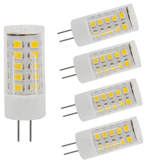 OMTO 5PCS Mini G4 LED Bulb 220V SMD2835 3W 5W 7W Corn Lamp Spotlight - WARM WHITE 3W