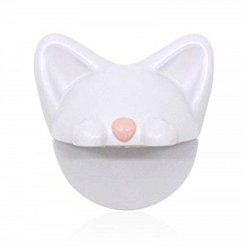 Child Safety Cabinet Locks Cat Shape Anti-Tilt Connector Protection for Children - WHITE