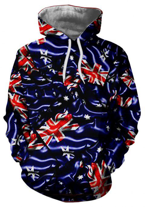 New Exotic Fashion Casual 3D Printed Hoodie - multicolor 3XL