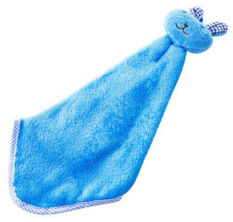 Cute Rabbit Head Bunny Kitchen Towel - SKY BLUE REGULAR