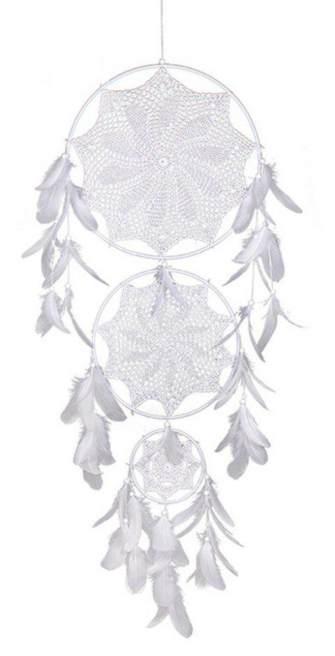 Dreamcatcher For Living Room Decoration Dream Catchers Hanging - WHITE 130*40CM