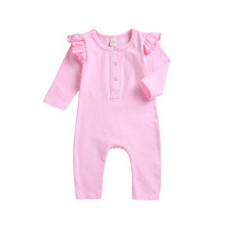 High Quality/Pink Jumpsuit - PINK XL