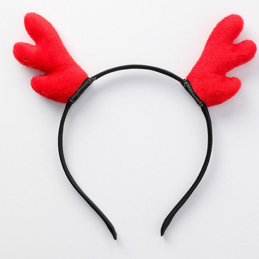 Antler Hair Hoop Headband Christmas Costume  Party Decoration