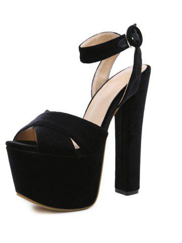 098d6b5e6989 Women s Peep Toe Platform Open Toe Sandals London Party High Heels