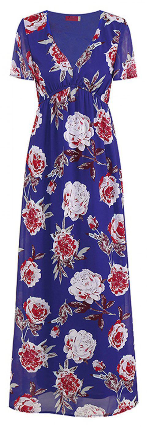 New Dress for Spring and Summer - BLUE S