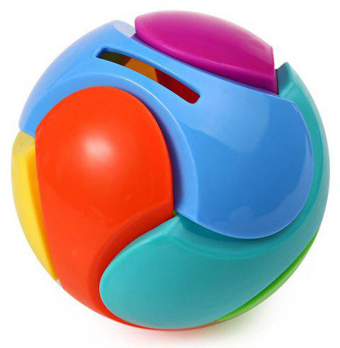 Blocks Ball Creative Piggy Bank Children Early Education - multicolor