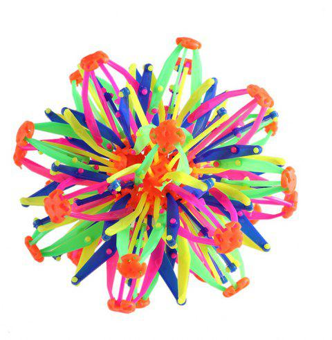 Changeable Magic Flower Ball Toy - multicolor