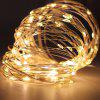 YEDUO Copper Wire LED String Lights Night For Garland Fairy Christmas Tree - WARM WHITE 10PCS