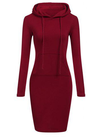 fe5f09f2ab New Women S Casual Solid Color Long V - Neck Long Sleeve Dress in Autumn  and Win