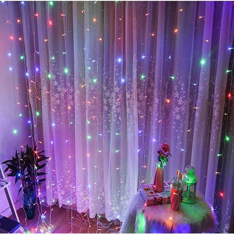 1PC Waterproof Outdoor Home 10M LED Fairy String Lights Christmas Party Wedding Holiday Decoration - multicolor